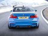 Pictures of BMW M3 UK-spec (F80) 2014
