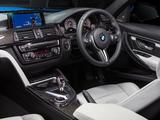 Pictures of BMW M3 AU-spec (F80) 2014