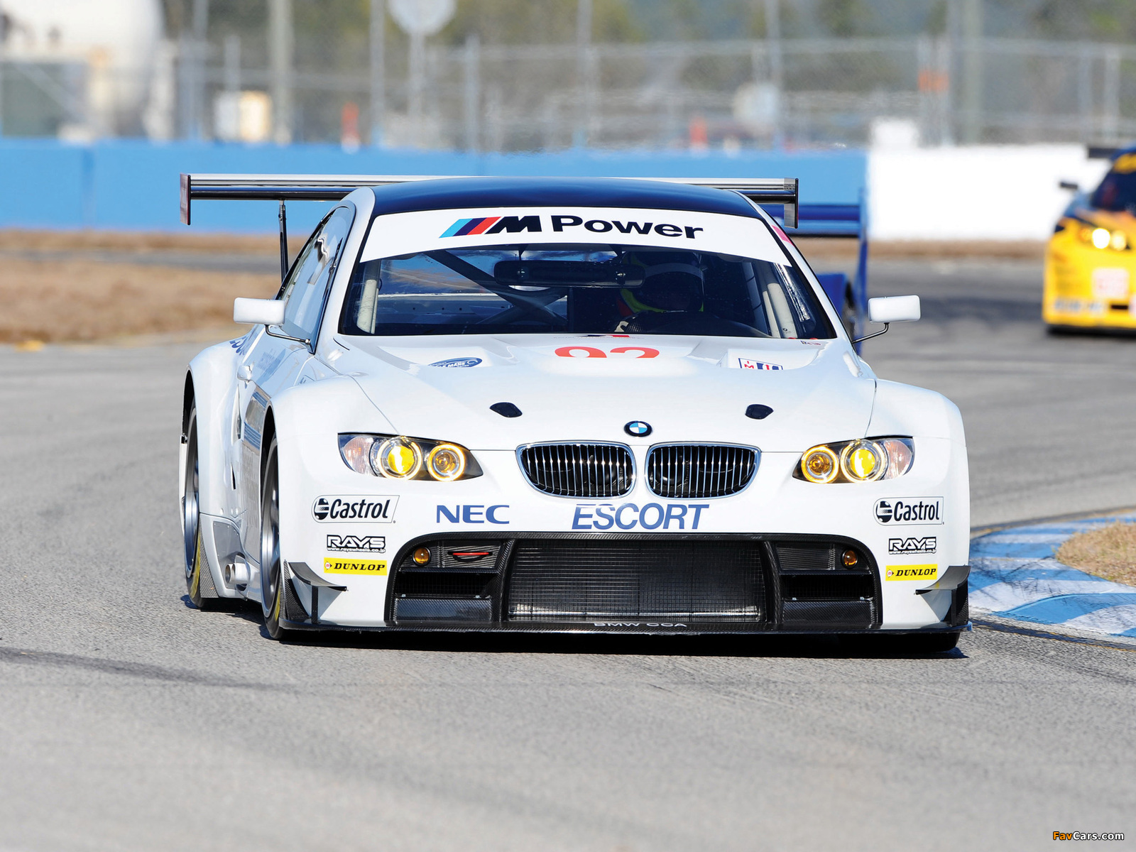 Wallpapers Of Bmw M3 Gt2 Race Car E92 2009 12 1600x1200