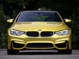 2015 BMW M4 Coupé US-spec (F82) 2014 images