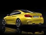 BMW M4 Coupé (F82) 2014 pictures