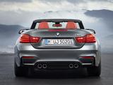 Images of BMW M4 Cabrio (F83) 2014