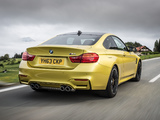 Photos of BMW M4 Coupé UK-spec (F82) 2014