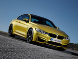 Photos of BMW M4 Coupé (F82) 2014