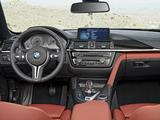 Pictures of BMW M4 Cabrio (F83) 2014