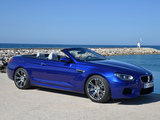 BMW M6 Cabrio (F12) 2012 photos