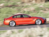 BMW M6 Gran Coupe AU-spec (F06) 2013 wallpapers
