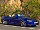 Photos of BMW M6 Cabrio ZA-spec (F12) 2012