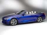 Pictures of BMW M6 Cabrio (F12) 2012