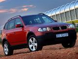 BMW X3 2.0d ZA-spec (E83) 2004–06 images