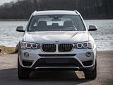 BMW X3 xDrive20d (F25) 2014 images
