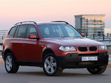 Images of BMW X3 2.0d ZA-spec (E83) 2004–06