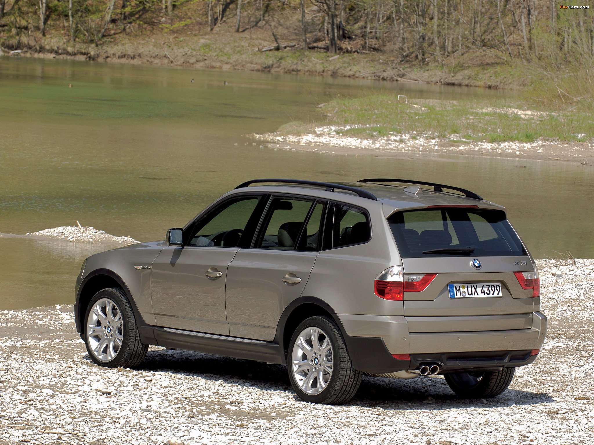 wallpapers of bmw x3 e83 2007 10 2048x1536. Black Bedroom Furniture Sets. Home Design Ideas