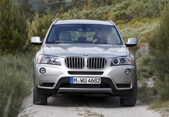 Wallpapers of BMW X3 xDrive35i (F25) 2010 (1600x1200)