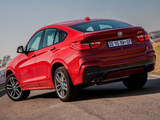 BMW X4 xDrive35i M Sports Package ZA-spec (F26) 2014 photos