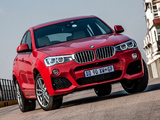 BMW X4 xDrive35i M Sports Package ZA-spec (F26) 2014 pictures