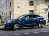 Images of BMW X4 xDrive30d (F26) 2014