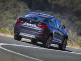 Images of BMW X4 xDrive30d AU-spec (F26) 2014