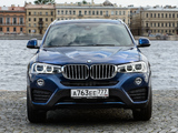 Photos of BMW X4 xDrive30d (F26) 2014