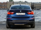Pictures of BMW X4 xDrive30d (F26) 2014
