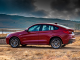Pictures of BMW X4 xDrive35i M Sports Package ZA-spec (F26) 2014