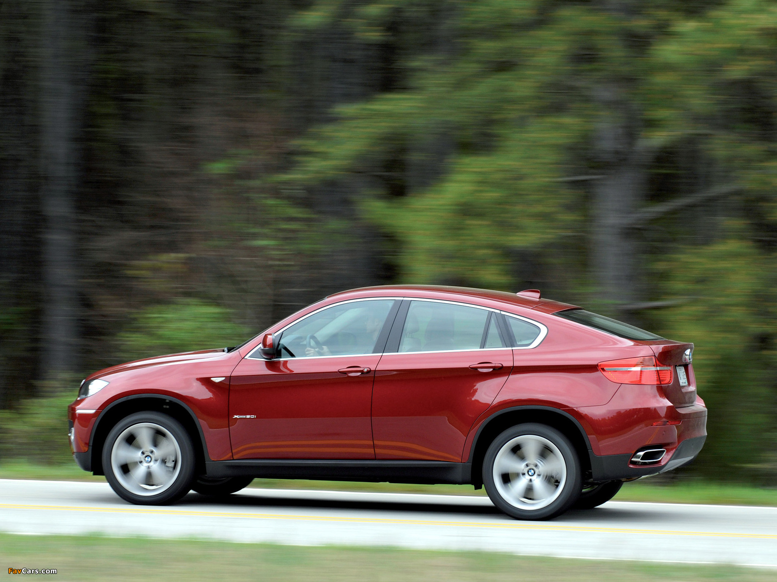 Images Of Bmw X6 Xdrive50i E71 2008 12 1600x1200
