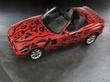 Images of BMW Z1 Art Car by A.R. Penck (E30) 1991