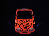 Pictures of BMW Z1 Art Car by A.R. Penck (E30) 1991