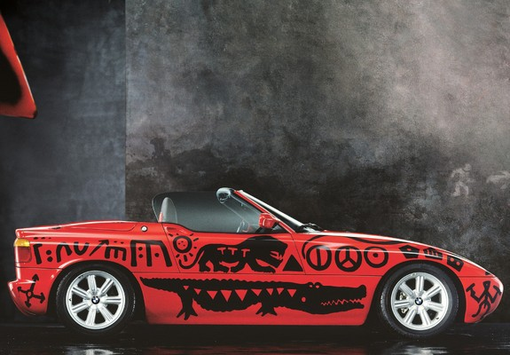 wallpapers of bmw z1 art car by a r penck e30 1991 640x480. Black Bedroom Furniture Sets. Home Design Ideas