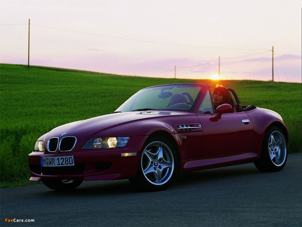 BMW Z3 M Roadster (E36/7) 1996–2002 pictures (1024 x 768)
