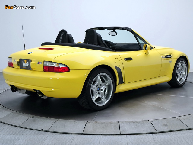 Bmw Z3 M Roadster Us Spec E36 7 1998 2002 Photos 640x480