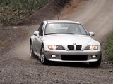 BMW Z3 3.0i Coupe US-spec (E36/8) 2000–02 photos