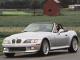 BMW Z3 3.0i Roadster US-spec (E36/7) 2000–02 wallpapers