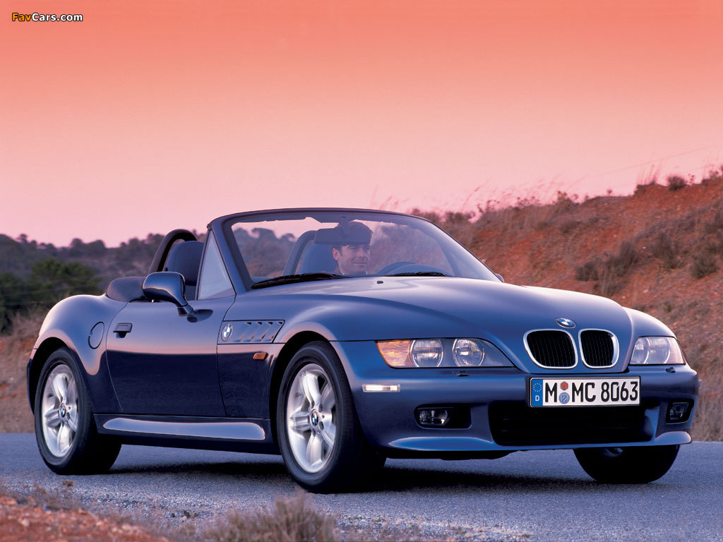 pictures of bmw z3 2 0 roadster e36 7 1999 2000 1024x768. Black Bedroom Furniture Sets. Home Design Ideas