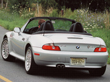 Wallpapers of BMW Z3 3.0i Roadster US-spec (E36/7) 2000–02