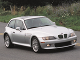 Wallpapers of BMW Z3 3.0i Coupe US-spec (E36/8) 2000–02