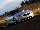 BMW Z4 2.5i Roadster AU-spec (E85) 2002–05 images