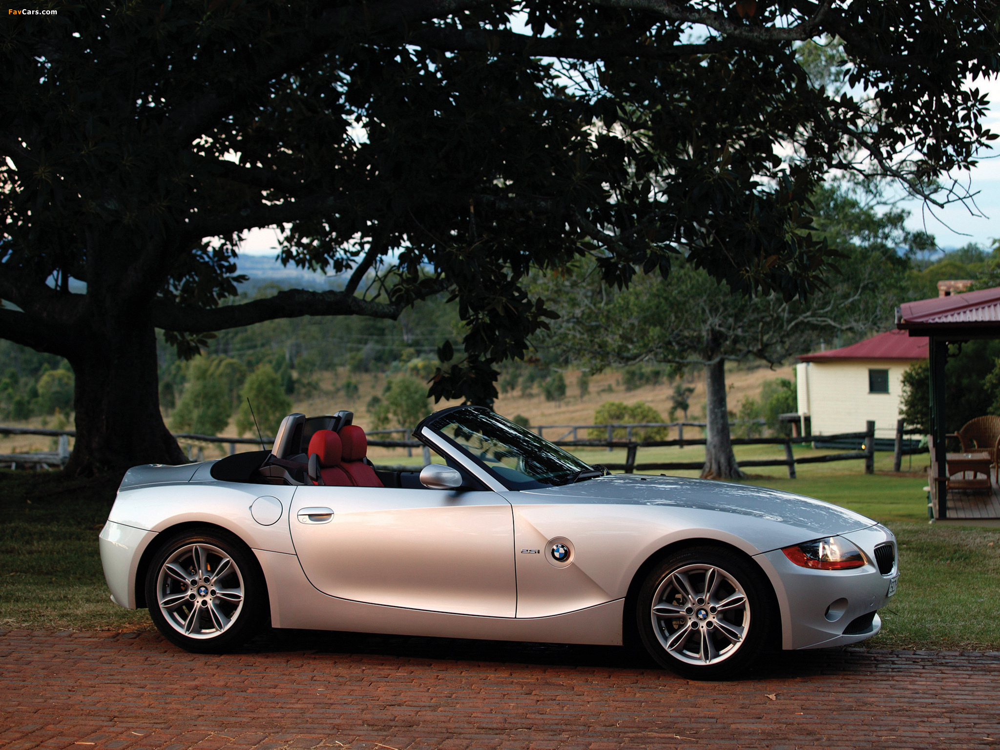 Bmw Z4 2 5i Roadster Au Spec E85 2002 05 Wallpapers
