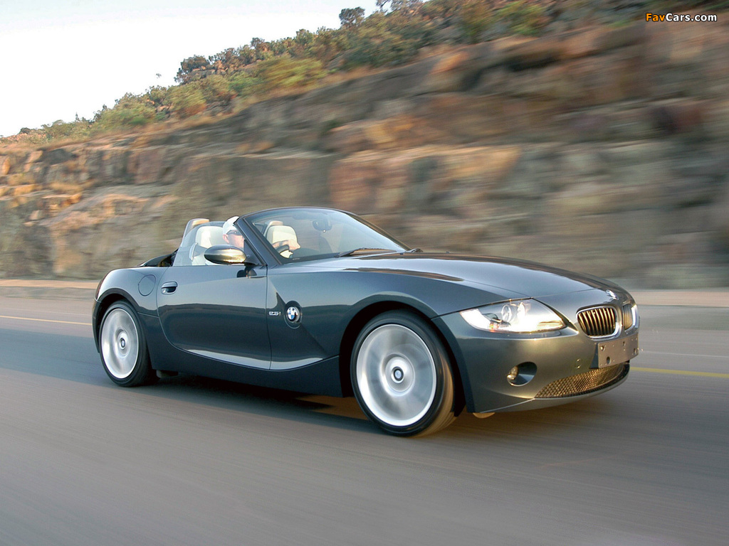 Bmw Z4 Roadster Individual E85 2004 Pictures 1024x768