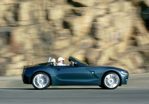 Bmw Z4 Roadster Individual E85 2004 Wallpapers