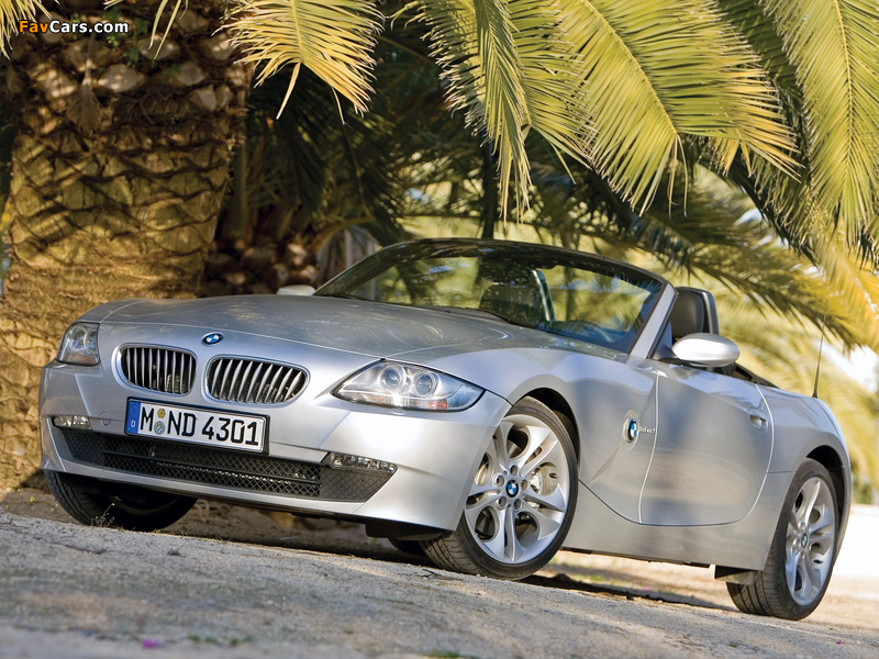 Bmw Z4 3 0si Roadster E85 2005 09 Pictures 800x600