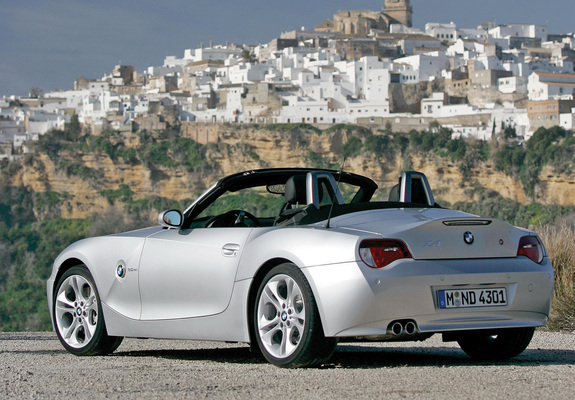 Bmw Z4 3 0si Roadster E85 2005 09 Pictures 1024x768