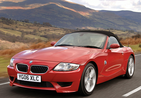 Bmw Z4 M Roadster Uk Spec E85 2006 08 Photos 640x480