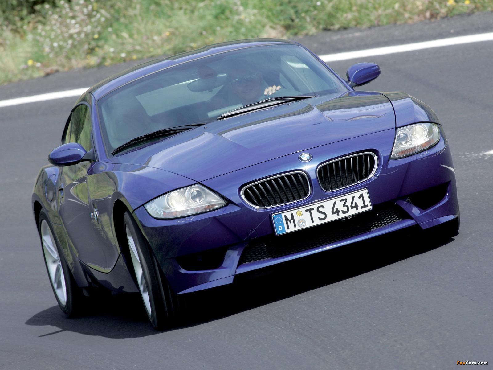 Bmw Z4 M Coupe E85 2006 08 Photos 1600x1200