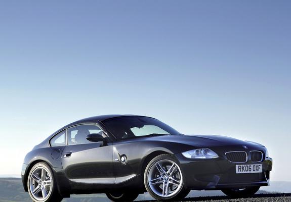 BMW Z4 M Coupe UK-spec (E85) 2006–08 photos (640x480)