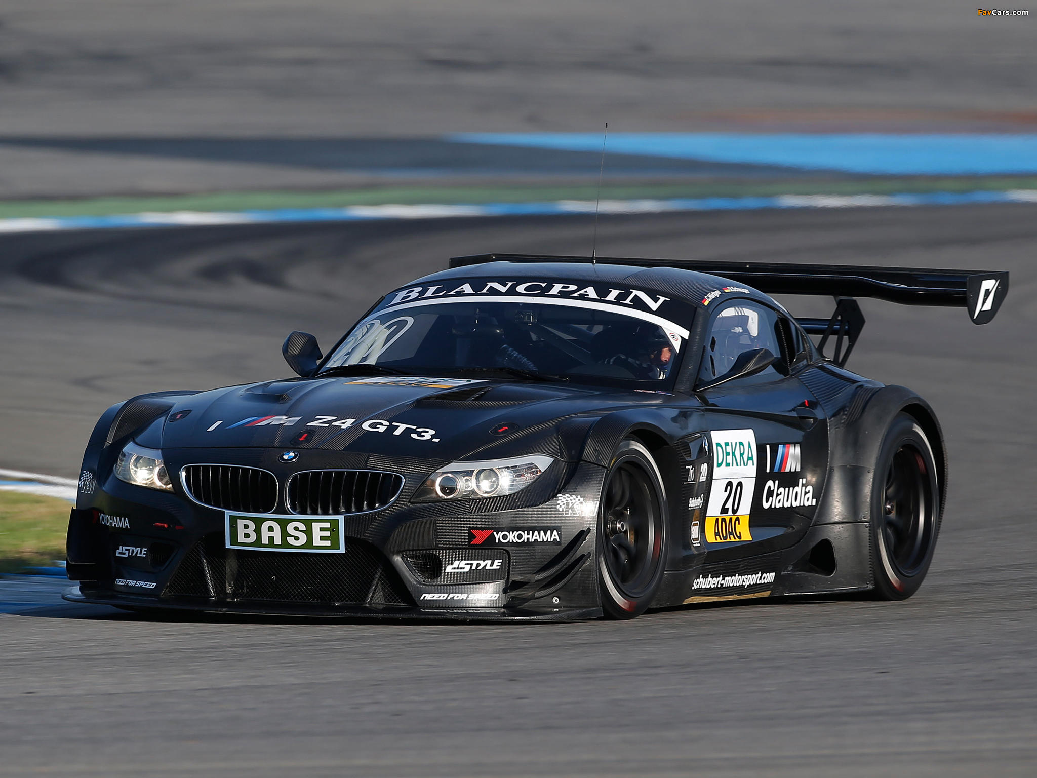 BMW Z4 GT3 (E89) 2010 wallpapers (2048x1536)
