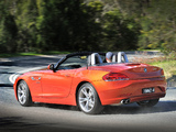BMW Z4 sDrive28i Roadster AU-spec 2013 pictures