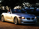 Images of BMW Z4 2.5i Roadster AU-spec (E85) 2002–05