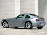 Photos of BMW Z4 3.0si Coupe 2006–09