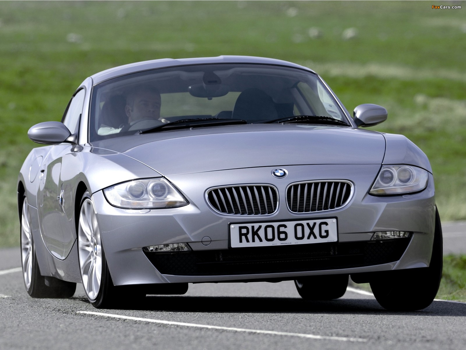 Photos of BMW Z4 3.0si Coupe UK-spec 2006–09 (1600x1200)